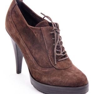 Brown Mary Suede Bootie
